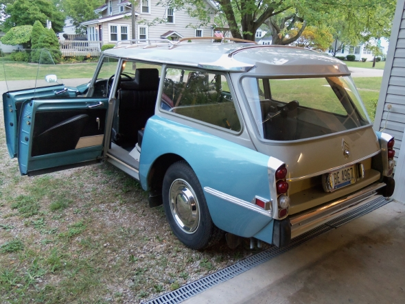 Id 21 f 1970 export usa d 39 douard - Repeindre une porte de voiture ...