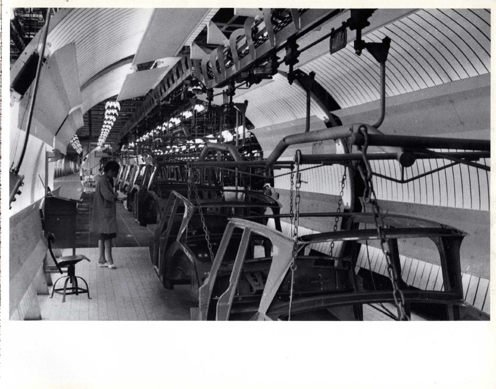 usine citro n de rennes la janaie 1966. Black Bedroom Furniture Sets. Home Design Ideas